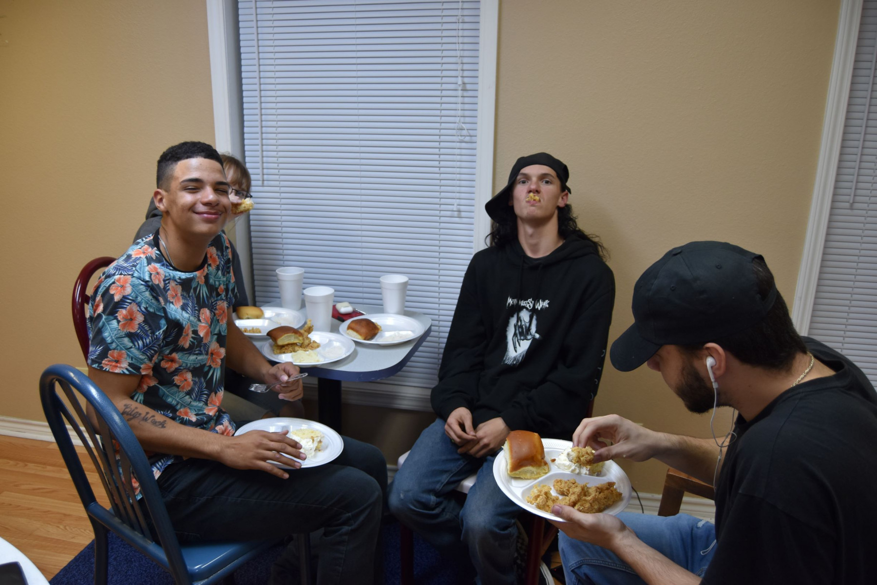 Youth Fellowship Meal and Bible Study